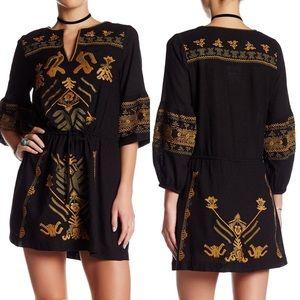 Free People | Anouk Embroidered Mini Dress